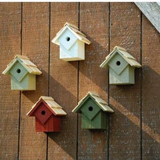 Eclectic Birdhouses by Bellacor