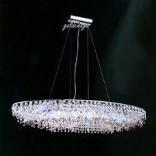 Contemporary Chandeliers by GoldenageUSA