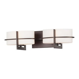 Minka Lavery - Minka Lavery 5152 2 Light Bathroom Vanity Light Fieldale Lodge Collecti - Two Light Bathroom Vanity Light from the Fieldale Lodge CollectionFeatures: