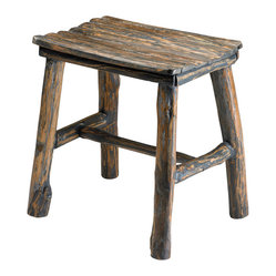 Cyan Design Vintage Wooden Stool
