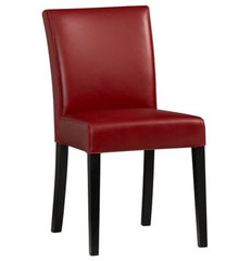 contemporary dining chairs and benches by Crate&Barrel
