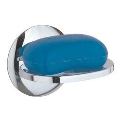 Renovators Supply - Soap Dishes Bright Chrome Soap Dish - Chrome soap dish mounts to the wall.