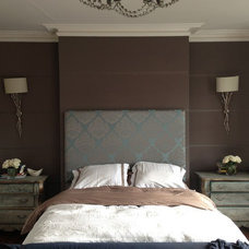 Transitional Bedroom by Fleur Ward Interior Design