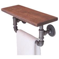 Industrial Towel Bars And Hooks by Industrial Home Bazaar