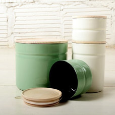 Contemporary Food Containers And Storage by Joinery