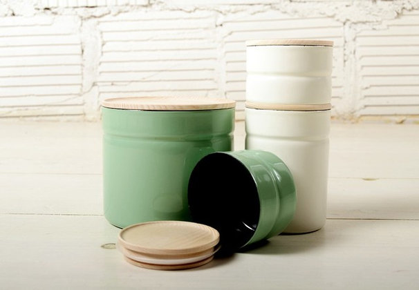 Contemporary Kitchen Canisters And Jars by Joinery