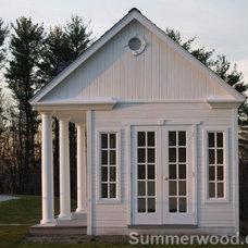 Modern Prefab Studios by Summerwood Products