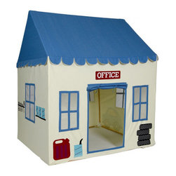 Pacific Play Tents - Children's Playhouse, My 1st Garage - Dimensions: 52.5 in X 42 in X 64.5 in high