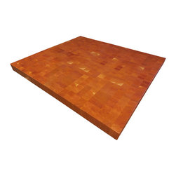 Armani Fine Woodworking - End Grain Cherry Butcher Block Countertop - Armani Fine Woodworking End Grain Cherry Block Countertop