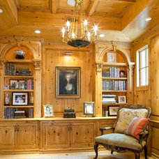 Traditional Living Room by Andrew Williams and Associates, Inc