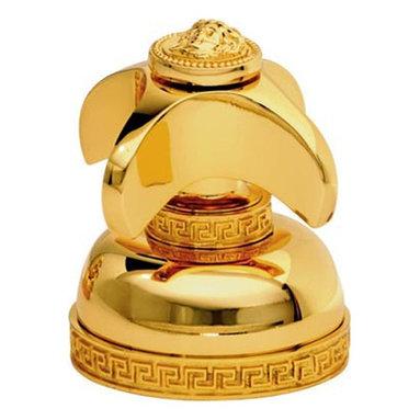 Versace - Versace Classic Gold Single Faucet Knob - Versace Single Faucet Knob