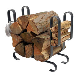Elkay - Enclume LR19a HS Large Modern Log Rack - LR19a HS Large Modern Log Rack . This new approach integrates a host of warm curves into its horizontal design. This log rack solves your hearth storage needs with ample space for logs, kindling, and newspaper.
