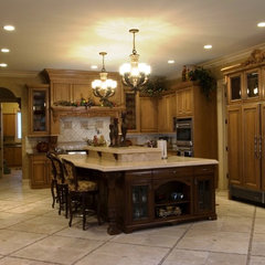 mediterranean kitchen by Nitti Development