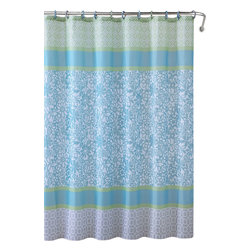 """Emerson Embossed Microfiber Shower Curtain- 72""""x 72"""" - Emerson Embossed Microfiber Shower Curtain- 72""""x 72"""""""
