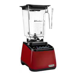 Blendtec - Blendtec Designer Series WildSide Blender, Red - Package includes:
