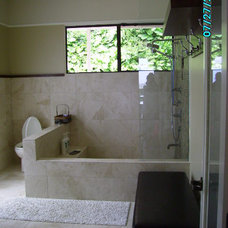 Asian Bathroom by Design Etc.