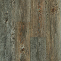 Vinyl / Waterproof Flooring - Natural Elegance Elite Waterproof Click Together Vinyl Plank Brookshire Walnut