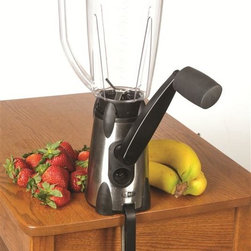 Hand-Cranked Blender - This hand-cranked blender from Lehman's will give you a workout while you whip up that breakfast smoothie. The Lehman's catalog is a fantastic resource for non-electric alternatives to common household items — the business was founded to serve Amish communities, but now enjoys widespread appeal.