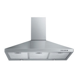 Spagna Vetro - Spagna Vetro 30, SV198F-30 Wall-Mounted Stainless Steel Range Hood - Mounting version - Wall Mounted