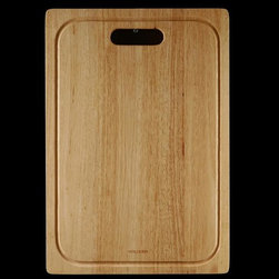 Houzer - Cutting Board for Epicure Sinks - For use with Houzer products only. Fits EPG-3300, EPO-3370SR. Hardwood cutting board. Reversible and designed to fit both undermount and topmount. 14 in. x 20.25 in. x 1 in.T . Oak. 1 Year Warranty. 14 in. W x 20.25 in. H x in. D. Product Specifications
