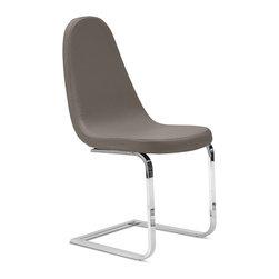 Domitalia - Blade-SP Chair, Taupe - Chair
