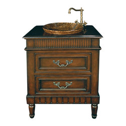 Sterling Industries - Sterling Industries 88-1625SM Yarmouth Sink Chest - Chest (1)