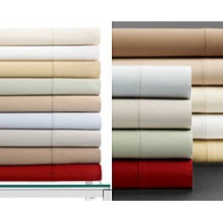 Hotel Collection - Hotel Collection Bedding, 600 Thread Count Extra Deep King Flat Sheet - HTL 600 K XD FL IV