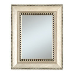 Alpine Management Group LLC - Chalet Wall Mirror - 33W x 45H in. - 5119K - Shop for Mirrors from Hayneedle.com! The transitional appeal of the Chalet Wall Mirror - 33W x 45H in. opens up any room with reflective beauty. This mirror offers a sophisticated frame with stylish frame and border detailing. It also offers finish and bevel options to match your home decor. Hang vertically or horizontally to match your available wall space.About Alpine CorporationAlpine Corporation has offices in Arizona Colorado Florida Iowa and Ohio. With a firm belief in the free enterprise system Alpine Corporation promotes equal treatment for customers employees shareholders suppliers and the community. Alpine Corporation carries a vast array of items including fountains pond and garden accessories and statuary and carries lighting and parts as well. A steadfast goal for Alpine Corporation is to continually exceed their customers' increasing expectations.