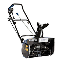 Snow Joe - Snow Joe 13.5 Amp Snow Blower - Simplify your snow shoveling with this practical and efficient Snow Joe snow blower. This snow blower is perfectly constructed from metal,rubber,and plastic. It includes a chute that rotates 180 degrees,a powerful motor,and a compact design.