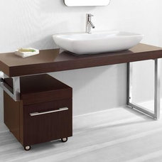 Contemporary Bathroom Countertops by Vanities for Bathrooms