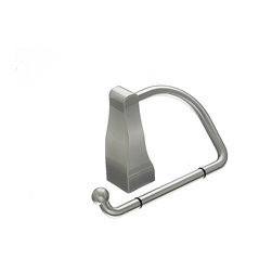 Top Knobs Hardware - Aqua Bath Tissue Hook - Ring Hook Diameter -  6'' w x 3 3/4'' h