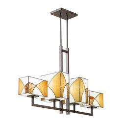 Kichler Lighting - Kichler Lighting 65373 Elias Olde Bronze Island Light - Kichler Lighting 65373 Elias Olde Bronze Island Light