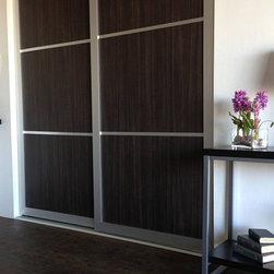 Woodgrains - Sliding Closet Doors / Room Dividers - Open | Close Doors