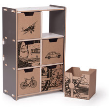Contemporary Toy Storage by Sprout, Quark Enterprises