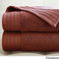 None - Quick Dry Egyptian Cotton Oversized Bath Sheet (Set of 2) - These warm oversized bath towels are made with 100 percent Egyptian cotton for comfort. Conveniently machine washable,these towels are also available in a variety of colors to better complement your decor.
