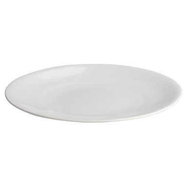 Alessi - Alessi All-Time Dining Plates, Set of 4 - Elevate every meal you serve by using these simply beautiful bone china plates. Sold in a set of four, they're consummate classics that display your cuisine to perfection.