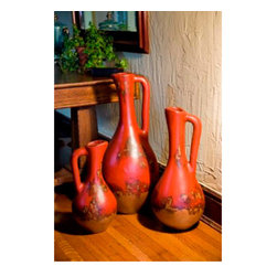 Mathews & Company - Jumbo Stoneware Pitchers Set of 3 - Our overview of the new Jumbo Stoneware Pitchers Set of 3 is on its way but you can still purchase this wonderful piece for your living quarters today. If you have questions about the product just drop a line or send us an email!