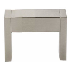 Alno Inc. - Alno Creations Block Style 3 1/2 Inch Pull Satin Nickel A420-35-Sn - Alno Creations Block Style 3 1/2 Inch Pull Satin Nickel A420-35-Sn