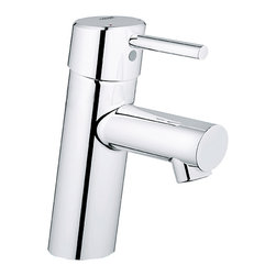Grohe - Grohe 34270001 Concetto OHM Basin Single Handle Lever Centerset Lavatory Faucet - All Grohe faucets are made to last through the years with much wear and damage resistance as possible. Grohe sub-plates layers of copper or nickel, depending on the surface, to ensure a flawless non-porous base for their dazzling finish layer. StarLight ensures a luminous mirror-like finish that is resistant to scratches and tarnishing for years of stunning, trouble-free use.