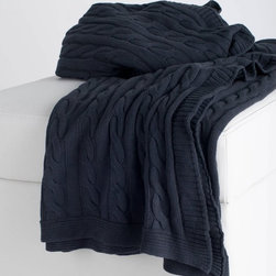 Rizzy Rugs - Rizzy Home Cable Knit Cotton Luxury Sweater Throw Blanket - TH0143 - Shop for Throws from Hayneedle.com! As cozy as your favorite sweater the Rizzy Home Cable Knit Cotton Luxury Sweater Throw Blanket adds a charming look to your home. The ultra-soft cotton design is the perfect place to curl up and relax. The gorgeous cabled design is available in your choice of colors so your home can look as fashionable as you do.About Rizzy RugsSince 1971 Rizzy Rugs has been producing the world's finest rugs using a variety of techniques including hand-knotting hand-tufting hand-looming and much more. Rizzy Rugs originally sold its rugs on a direct import basis; in 2007 it opened a new corporate headquarters in Calhoun Ga. Nowadays Rizzy Rugs services its customers via a state-of-the-art distribution center that allows it to provide exemplary customer service all over the United States. Rizzy is known for its wide variety of designs and weaving techniques as well as its sensible prices. At Rizzy Rugs you get quality materials old-fashioned techniques durable and dependable products and fashionable designs all at a price you can afford.
