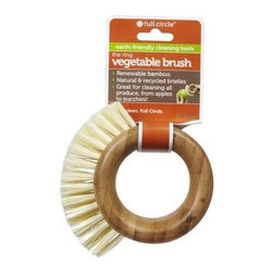 Full Circle Home The Ring Vegetable Brush - Comfortable thumb placement
