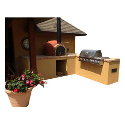 "PRC - Outdoor Wood Fired Pizza Oven, Insulated, Made in Portugal, 31.5"" Cooking Area - Outdoor Wood Pizza Oven Hand Made in Portugal!"