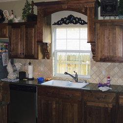 Traditional Trash Bin Kitchen Cabinetry: Find Kitchen Cabinets Online