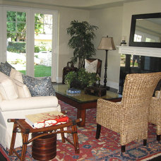 Traditional Living Room by Premier Home Staging and Interiors, LLC