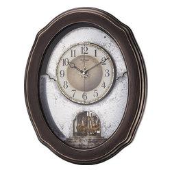Rhythm - Timecracker Vintage Magic Motion clock - The Timecracker Vintage will satisfy any antique seeker's fantasy