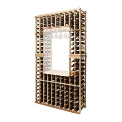 Wine Cellar Innovations - Vintner Individual Bottle Wine Rack (All-Heart Redwood - Light Stain) - Choose Wood Type and Stain: All-Heart Redwood - Light Stain. Glass rack and table top kit not included. Bottle capacity: 140. Versatile wine racking. Can accommodate just about any ceiling height. Custom and organized look. Wine rack: 45.69 in. W x 13.5 in. D x 83.81 in. H (48 lbs.). Optional base platform: 45.69 in. W x 13.38 in. D x 3.81 in. H (5 lbs.). Vintner collection. Made in USA. Warranty. Assembly Instructions. Rack should be attached to a wall to prevent wobble