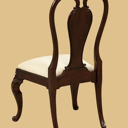 "ART Furniture - Devonshire Bow Back Side Chair (Set of 2) - 191204-2106 - Cherry veneers distressed through dry brushing, cowtails, fly specs, water marks and worm holes, define the casual, ""passed-down through the generations"" feel of this collection."
