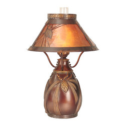 Dale Tiffany - Dale Tiffany TT60003 Dana Traditional Table Lamp - In our Traditional Tiffany Collection, we use the same high quality copperfoil and leading technique that Louis Comport Tiffany perfected in his original creations. His love of flowers and nature reflects in many of our shades and bases. In many cases, colors and design were updated to coordinate with home decor that is popular today. Louis Comfort Tiffany was constantly innovating his many techniques and styles, and Dale Tiffany has continued that heritage.