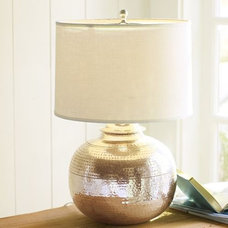 modern table lamps by Pottery Barn