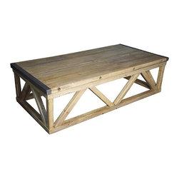 NOIR - NOIR Furniture - Benton Coffee Table - GTAB160OW - Features:
